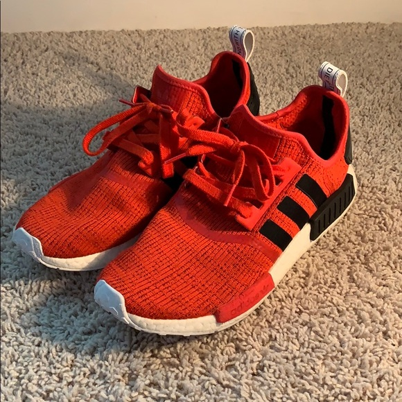 outlet store 06d1b 34740 Adidas NMD R1 Red/Black Size 11